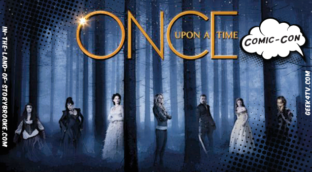 Once Upon a Time – Panel and interviews at Comic Con