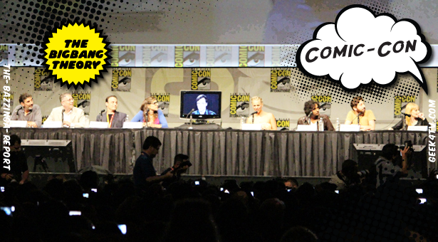 The Big Bang Theory – Interviews and videos from Comic Con