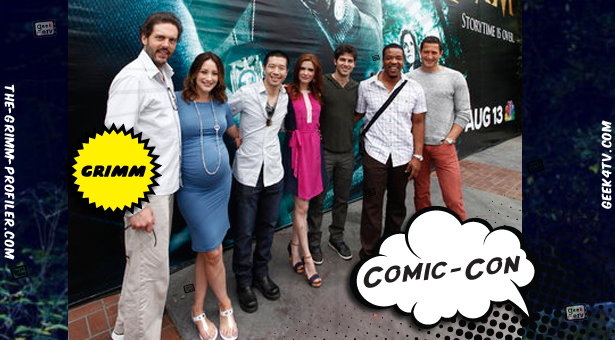 Comic-Con 2012 – Grimm NBC Comic Con Panel Video, Plus Interviews with the Cast and Writer