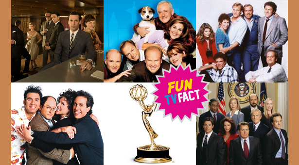 Tv Fun Fact: Which TV Show Holds The Record For Most Wins (Also Consecutive) in its Series category?