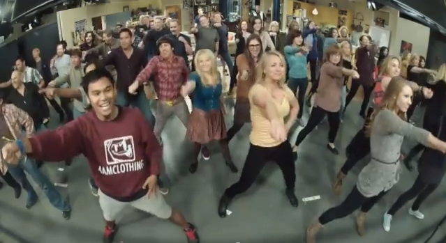 The Big Bang Theory Flash mob!