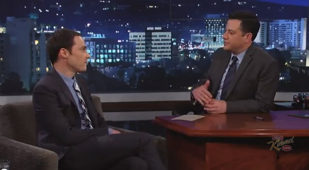Jim Parsons on Jimmy Kimmel Live