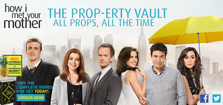 'How I Met Your Mother' complete series boxset and official props giveaway!
